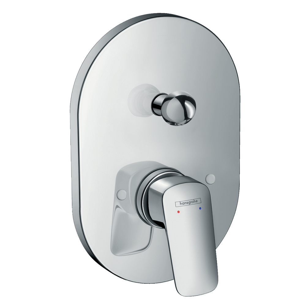 Hansgrohe Logis: Concealed Shower Mixer: 4 way, C