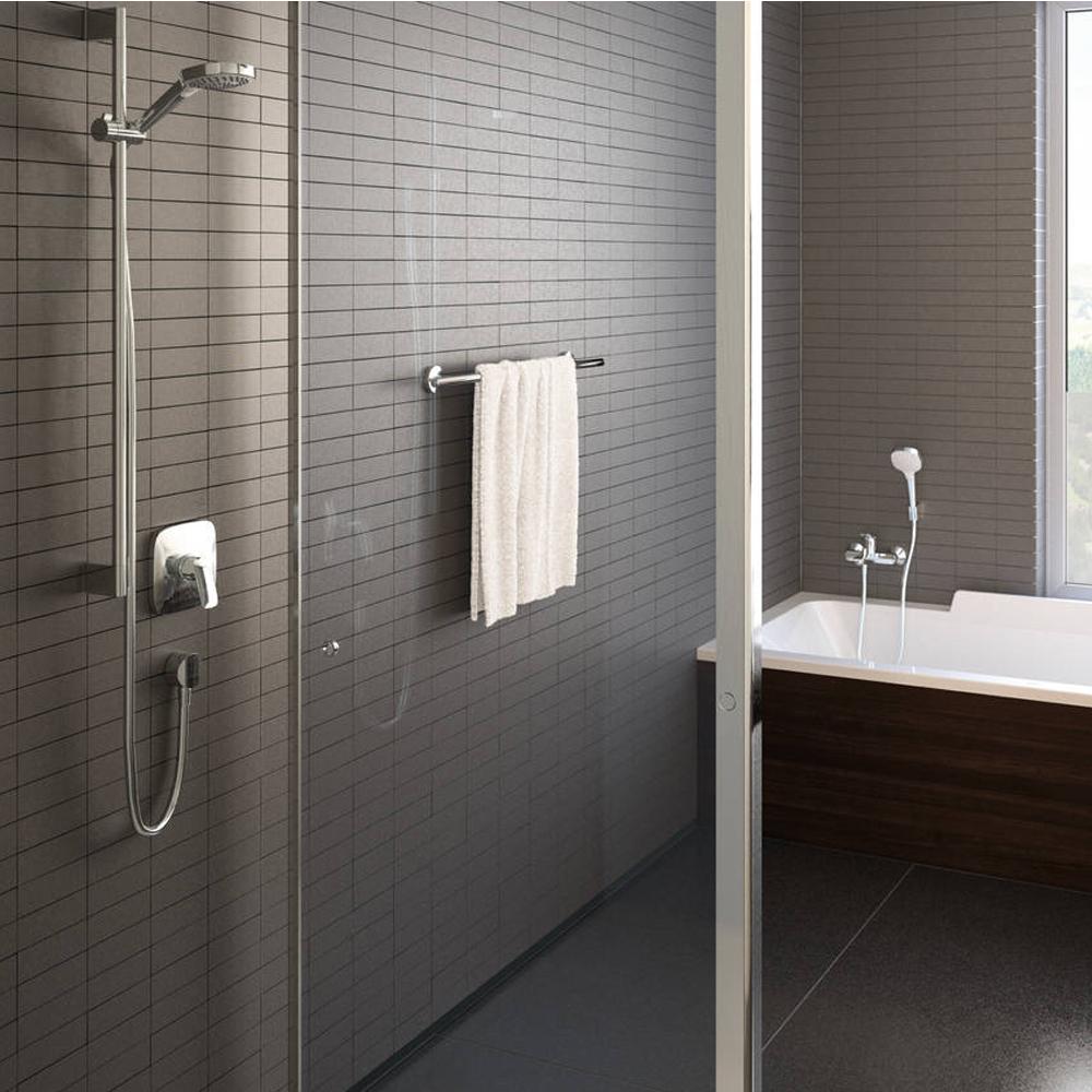 Hansgrohe Logis: Conc.Shower Mixer: 3way, S/L, C.P #71605000
