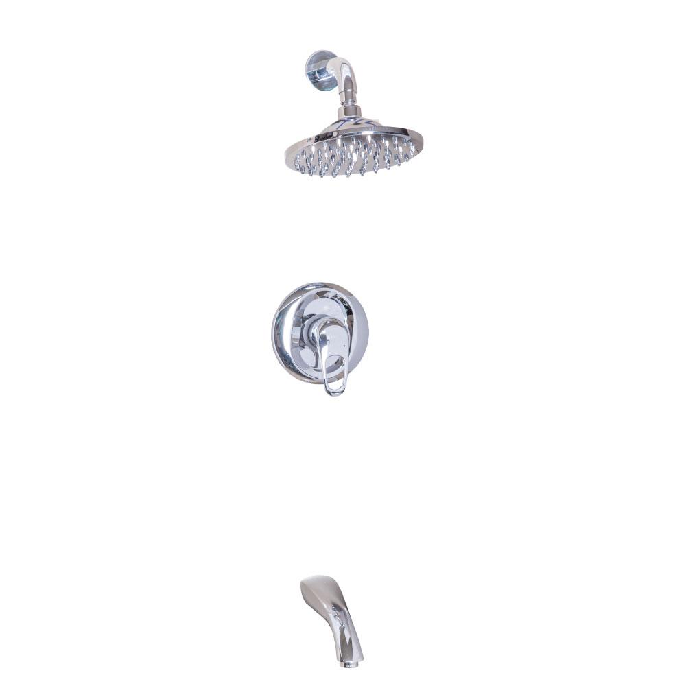 Tapis Alborg: Concealed Shower: 4-Way #9H5412A+K34001C+8E 1