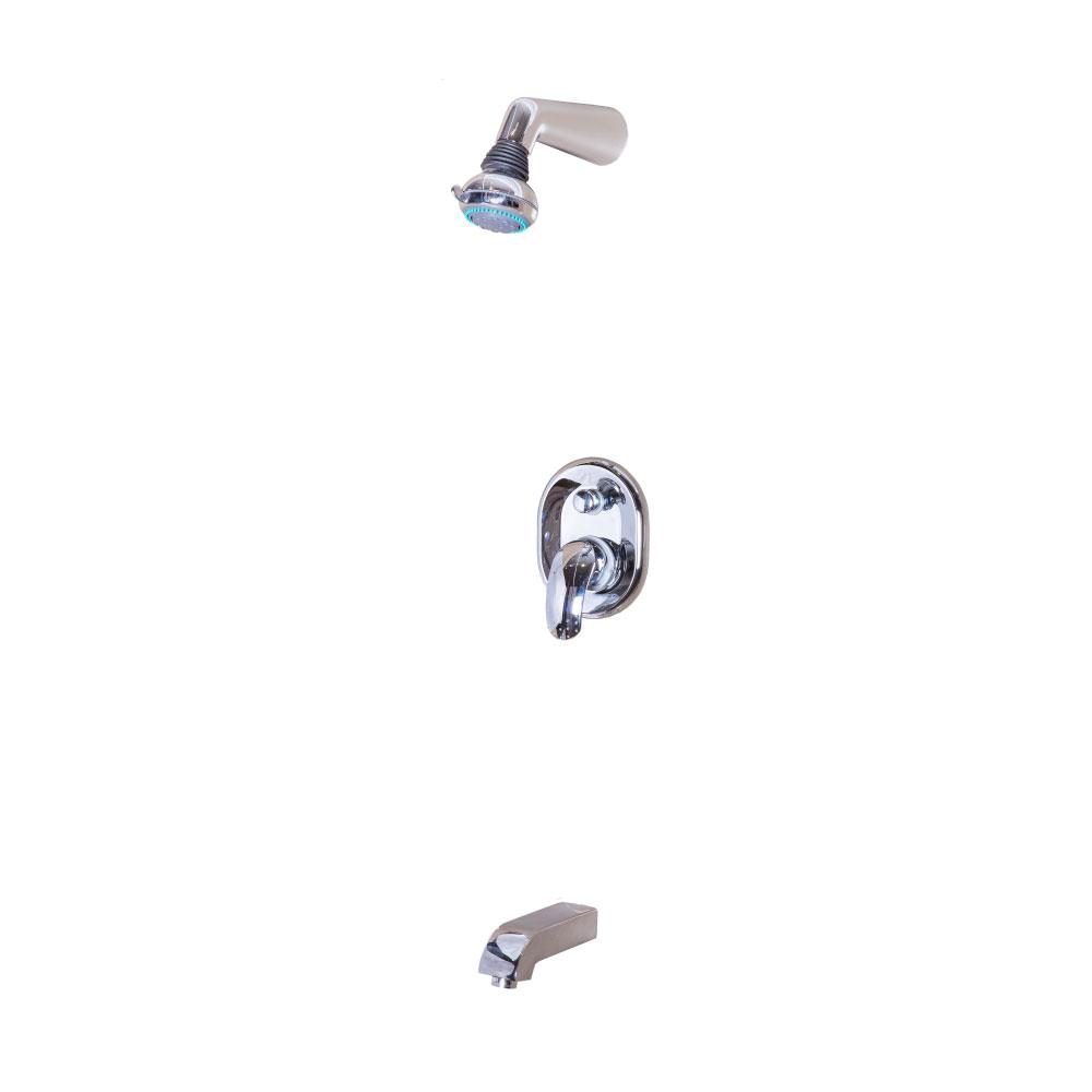 Tapis Coros: Concealed Shower: 4 Way #9C3402+AP34002C+8H 1