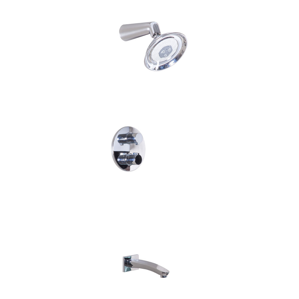 Tapis: Thermostatic Shwer Mixer +ShwrSet#9C6417A-68008JW4-6N 1