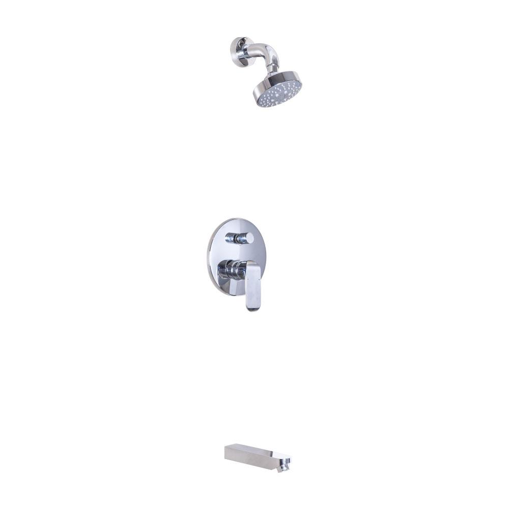 Tapis Yolanda: Concealed Shower Mixer- #9H5412A+WDG24227C+7P 1