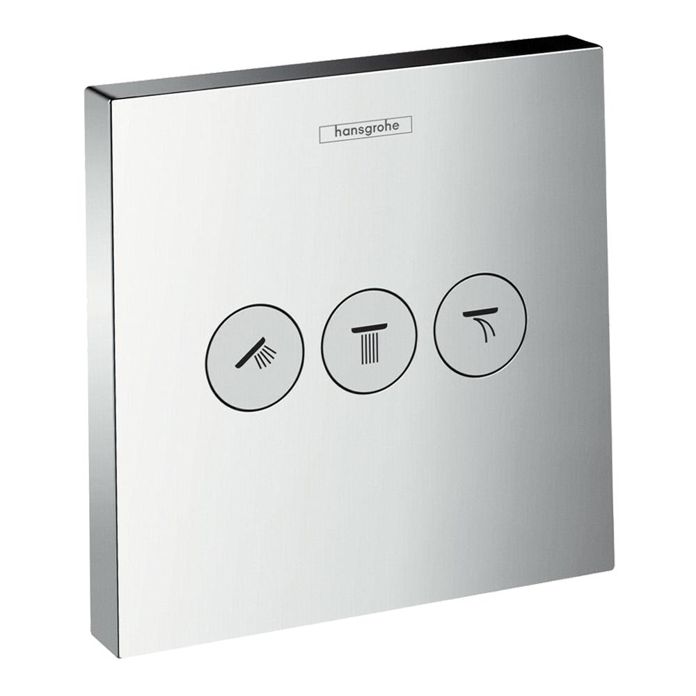 Hansgrohe Shower Select:Conc Shut Off Valve: C.P