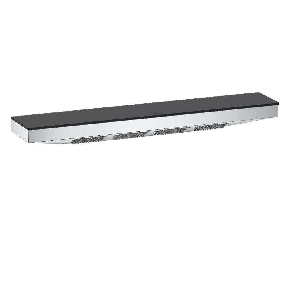 Hansgrohe Rainfinity 500: Shoulder Shower And Shelf; 1-Jet: Matt White #26243700 1