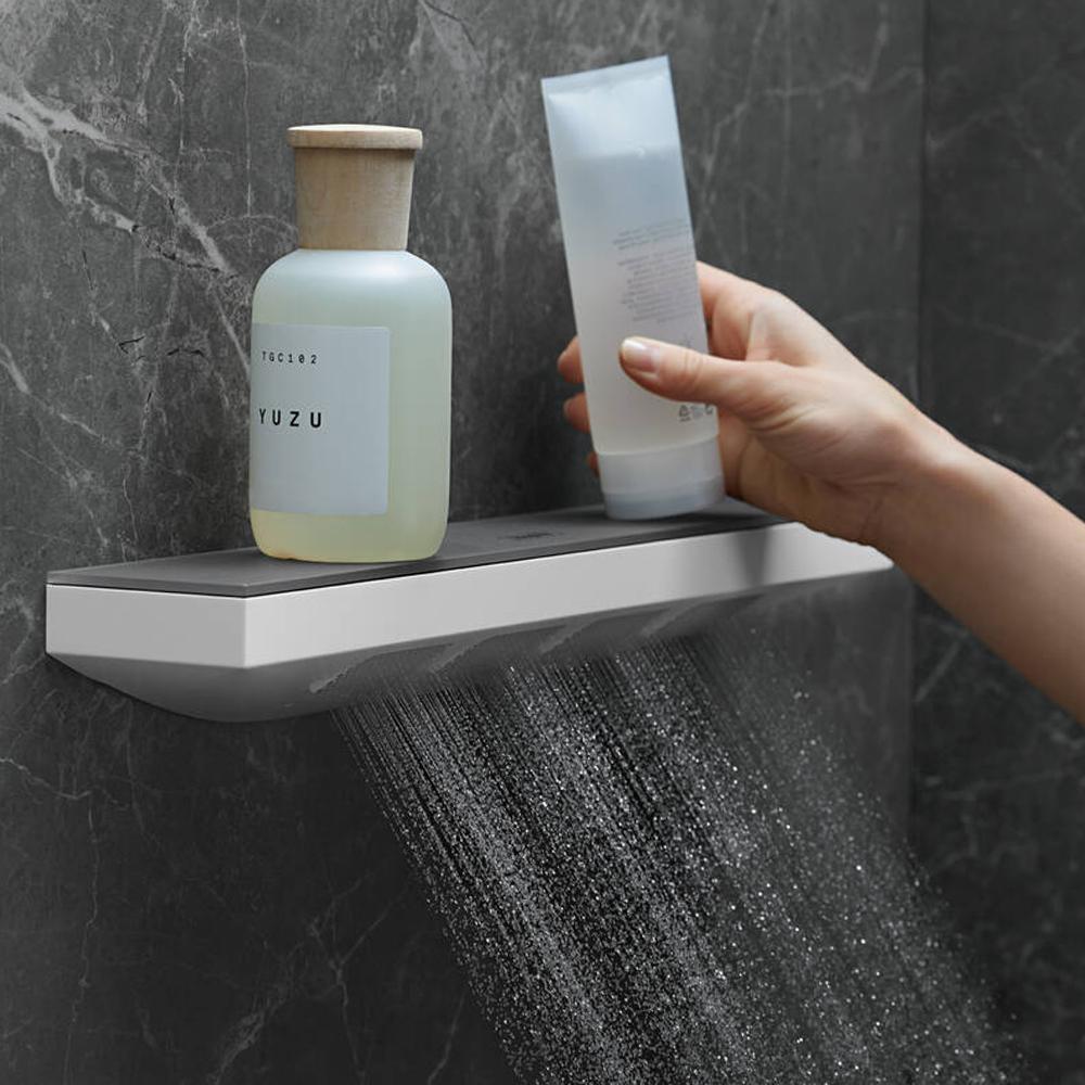 Hansgrohe Rainfinity 500: Shoulder Shower And Shelf; 1-Jet: C.P. #26243000