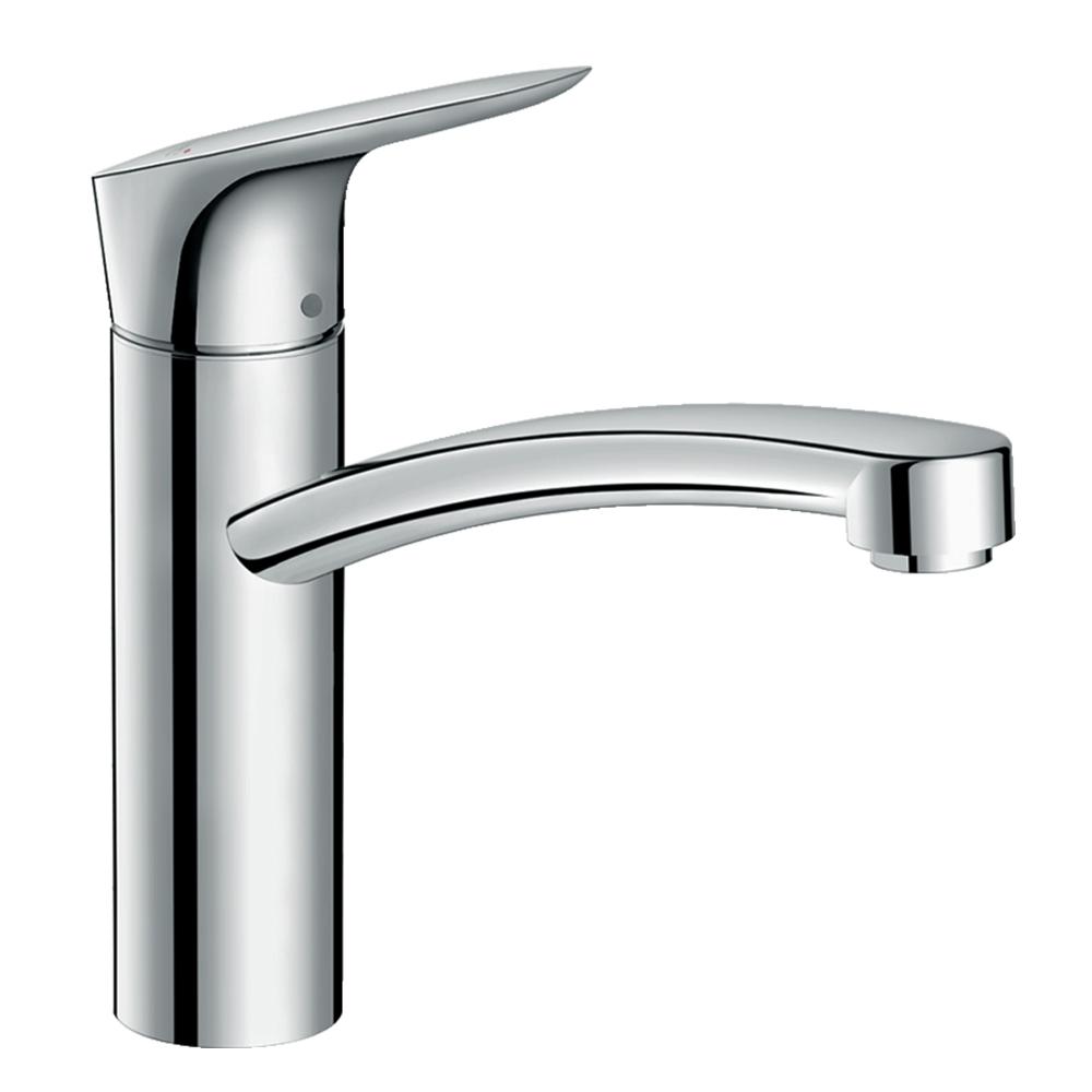Hansgrohe Logis 160: Sink Mixer, Single Lever; Swivel Spout C.P