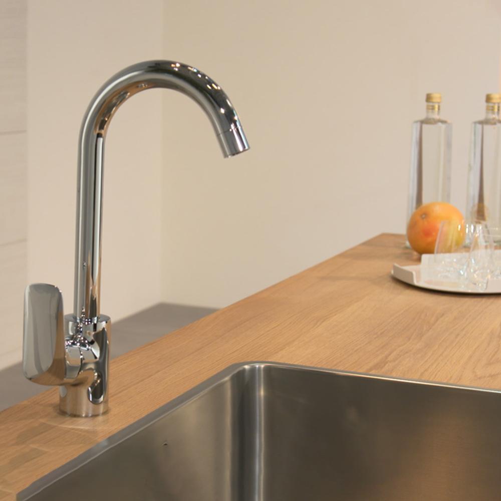 Hansgrohe Logis 260: Sink Mixer, Single Lever; Swivel Spout C.P. #718350