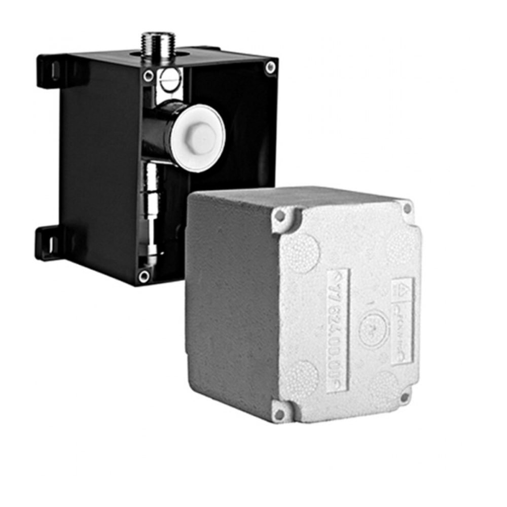 """Schell: Compact II Concealed UrinalFlush Valve Body, ½"""" #011930099 1"""