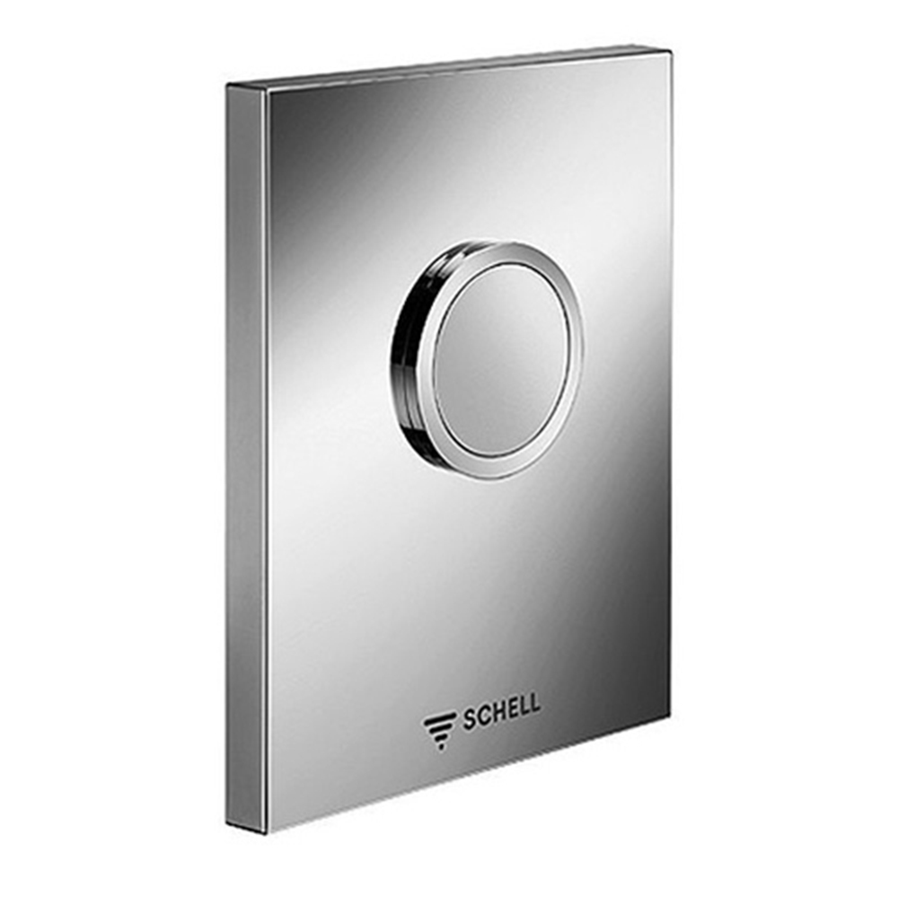 Schell: S/Steel Design Operating Panel For Urinal Concealed Flush Valve COMPACT II #028012899 1