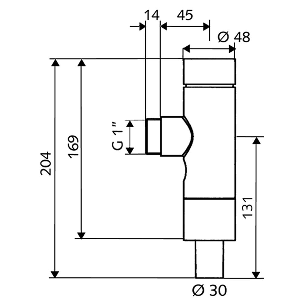 Schell: SCHELLOMAT Basic Low Pressure WC Flush Valve, DN25 #022520699
