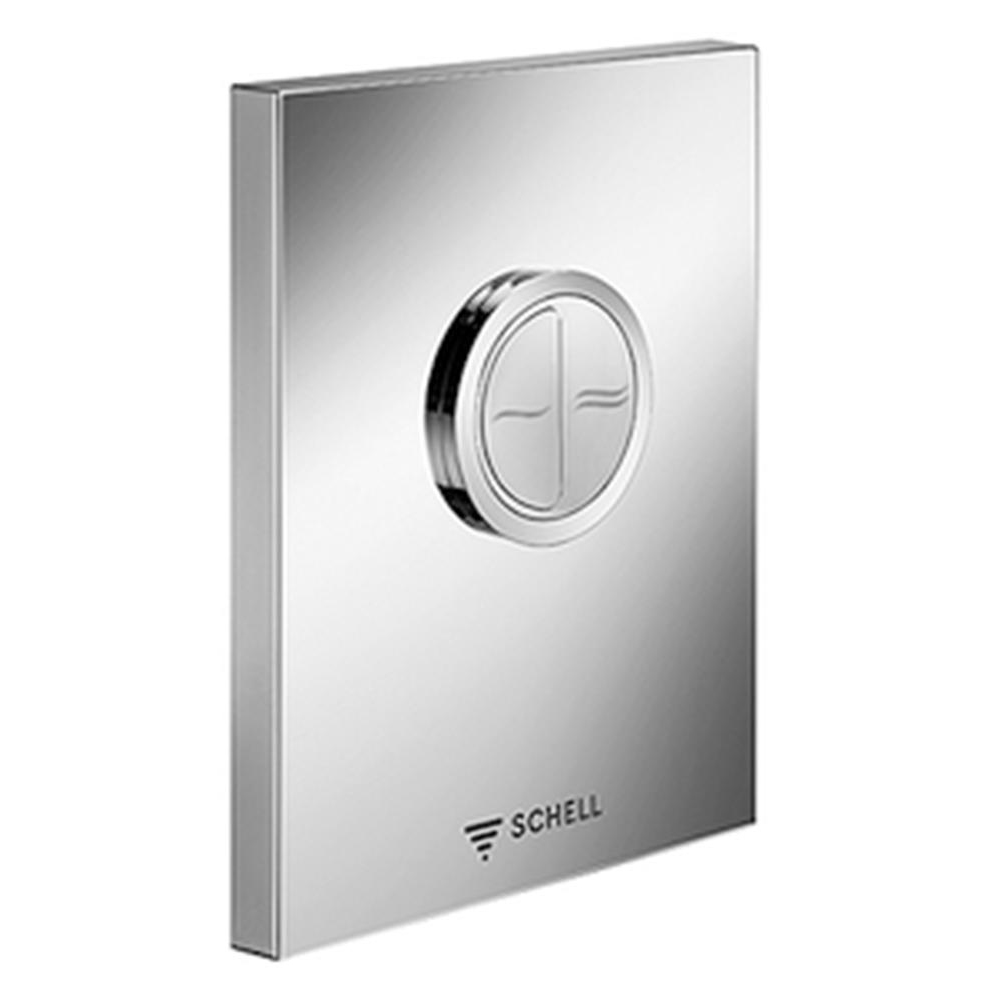 Schell: EDITION Eco ND Low Pressure Operating Panel For WC Concealed Flush Valve, C.P