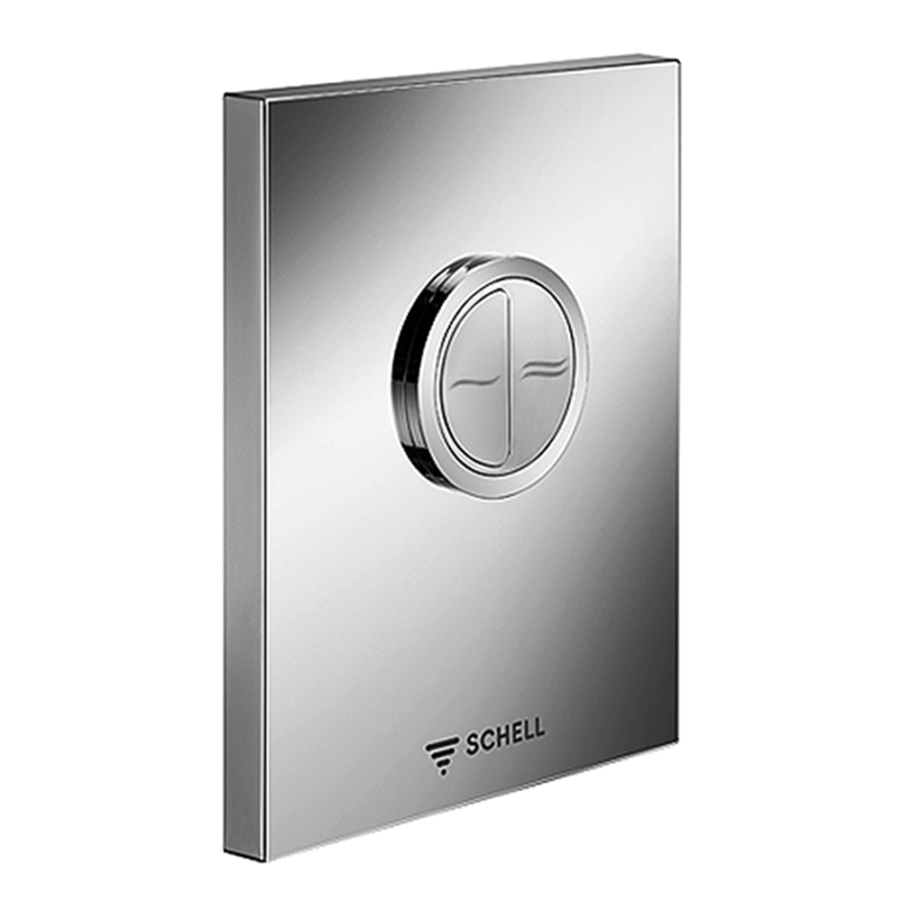 Schell: EDITION Eco Low Pressure Operating Panel For WC Concealed Flush Valve, S