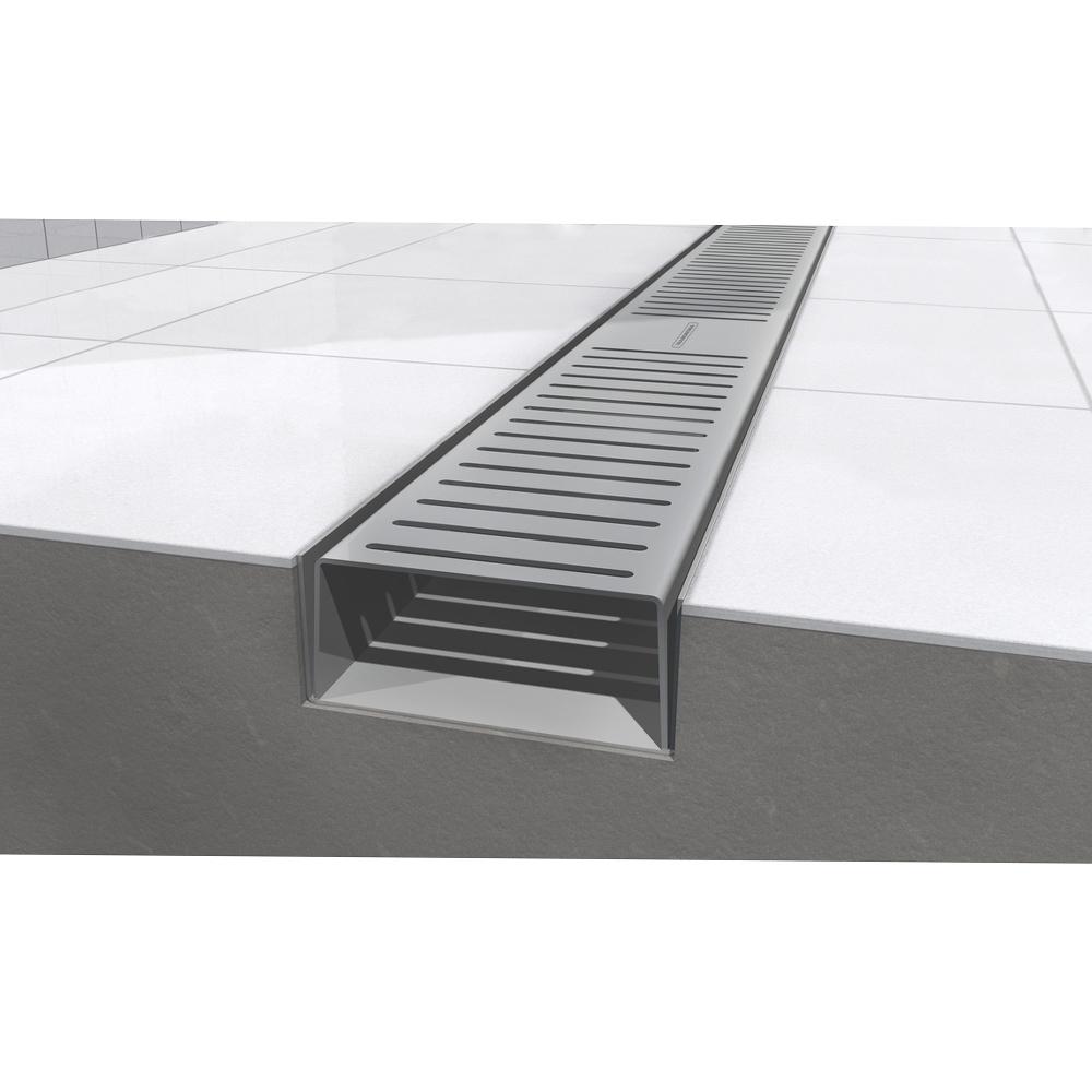 Tramontina : S/Steel Shower Grating, Slim 80cm : Ref. 94535108