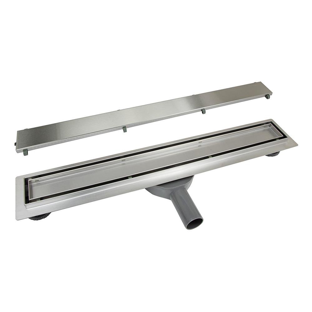 Tapis: S/S Linear Tile Inlay Shower Drain, 30L/min, 90cm; GTH01 #TP3 1