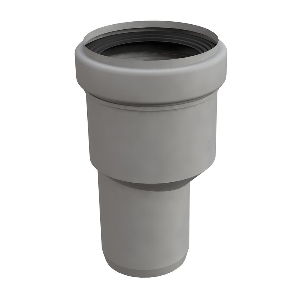 Bonomini: Canalissima Flanged Reducer For Floor Mini-Drain; Φ50-40mm #6980PP50B2 1
