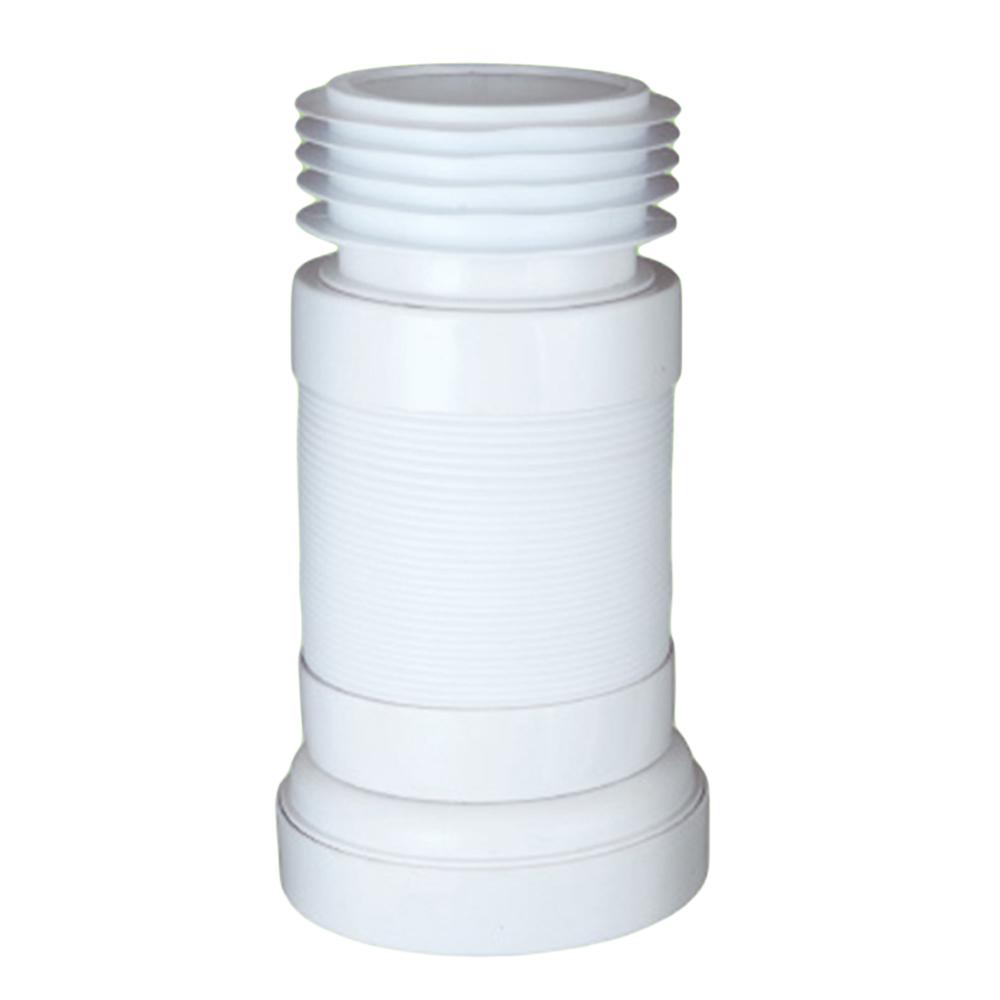Zeda: WC Magic Connector:  4in #ZDC107 1
