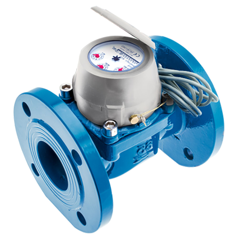 Industrial Water Meter: Woltmann type For Cold Water #WDE-K40 DN50 T50 L200 1