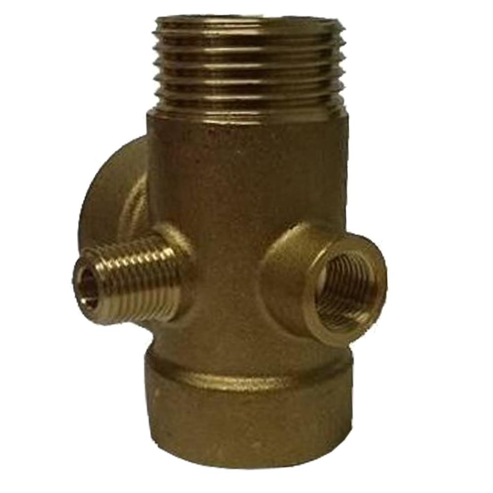 "DAB: 5-Way Brass Connector 1"" #60110862  1"