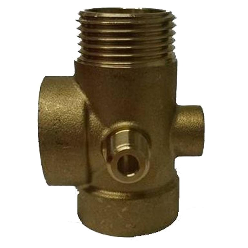 DAB: 5-Way Brass Connector 1'' #60110862