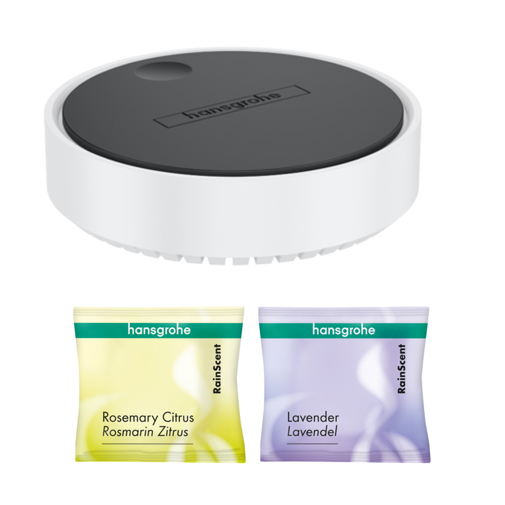 Hansgrohe: Rainscent Starter Kit; 1 Case + 2 Shower Tabs #21140700 1