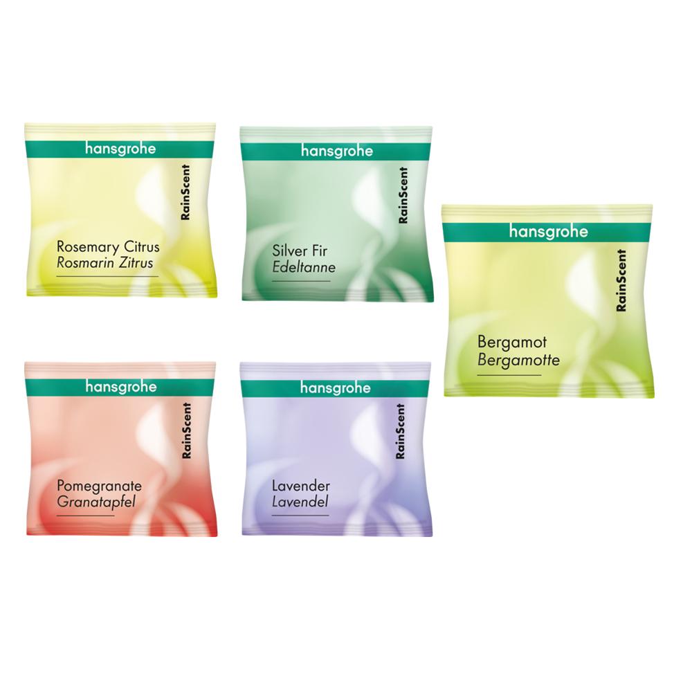 Hansgrohe: Rainscent Wellness Kit Mix; 5 Shower Tabs #21146000 1