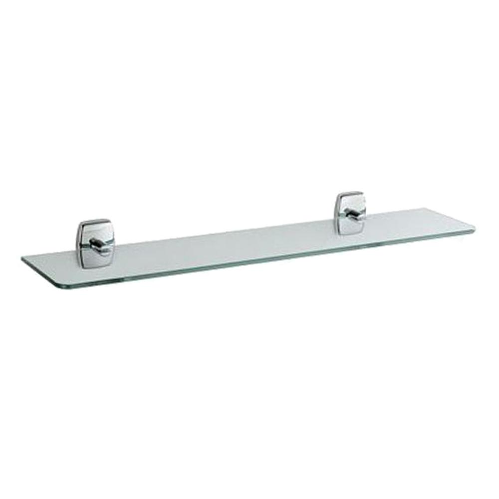 Inda: Bathroom Shelf : Glass, C.P. : Ref