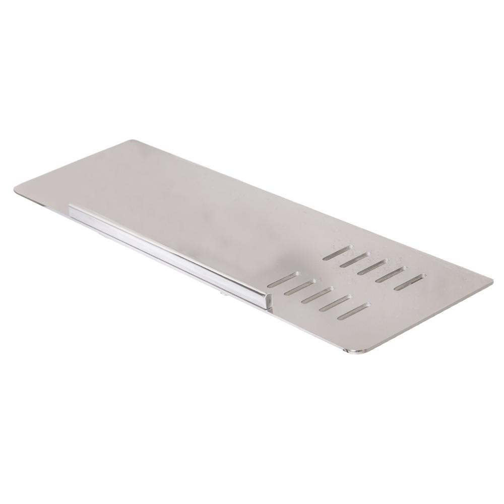 DALI: S/Steel Bathroom Shelf : 200x200x70mm Polished Ref