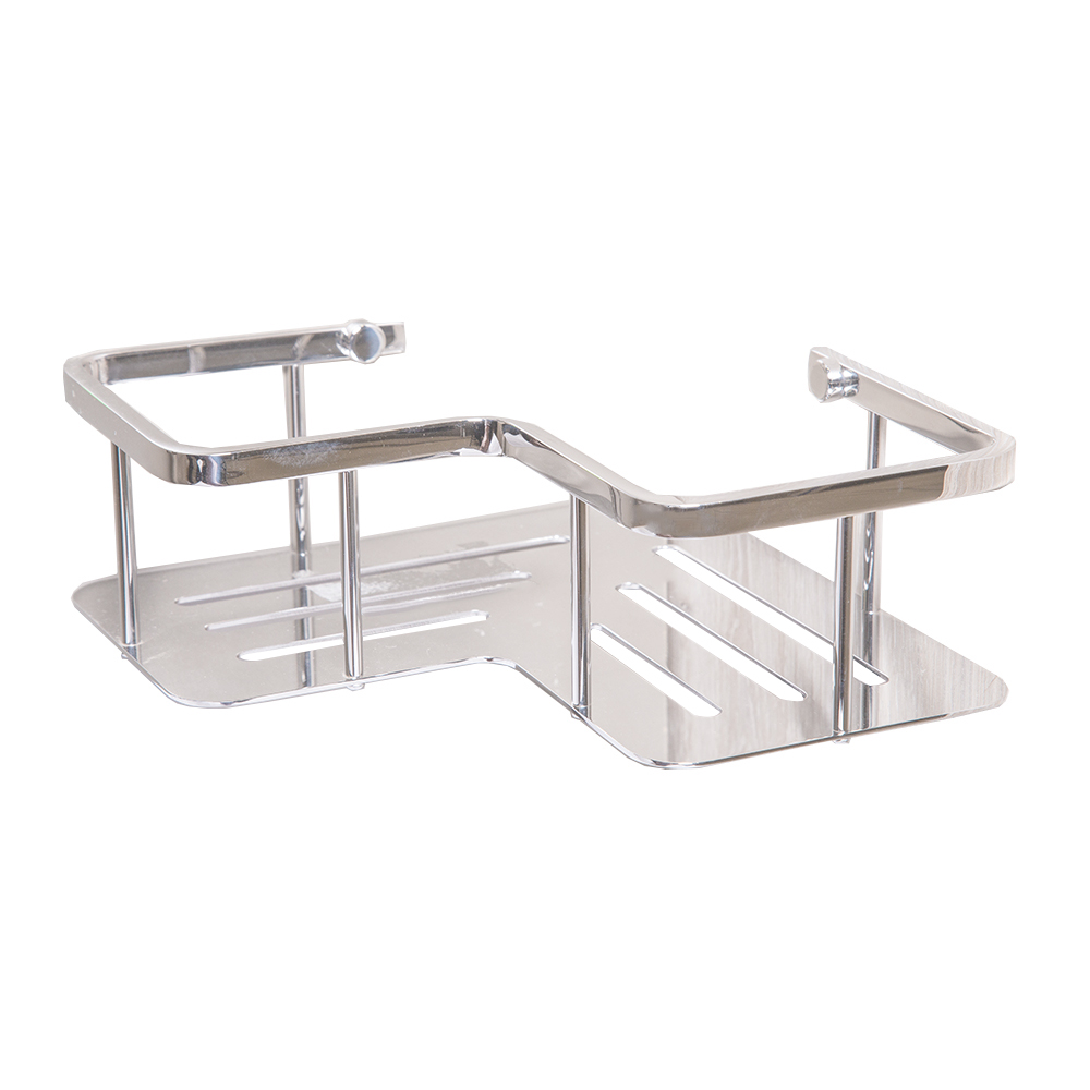 DALI: S/Steel Bathroom Shelf : 350x110x34mm Polished Ref