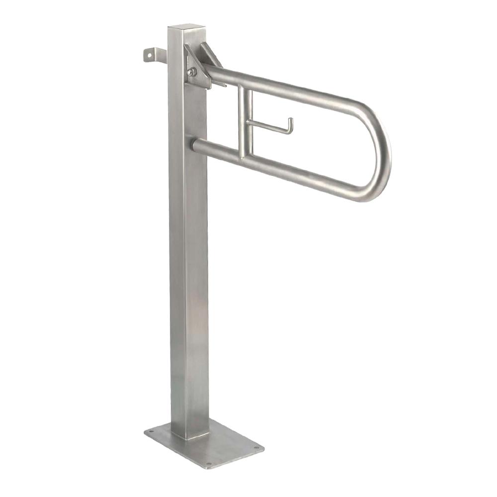 Mediclinics: S/Steel Swing Grab Bar, Satin #BGC710CS 1