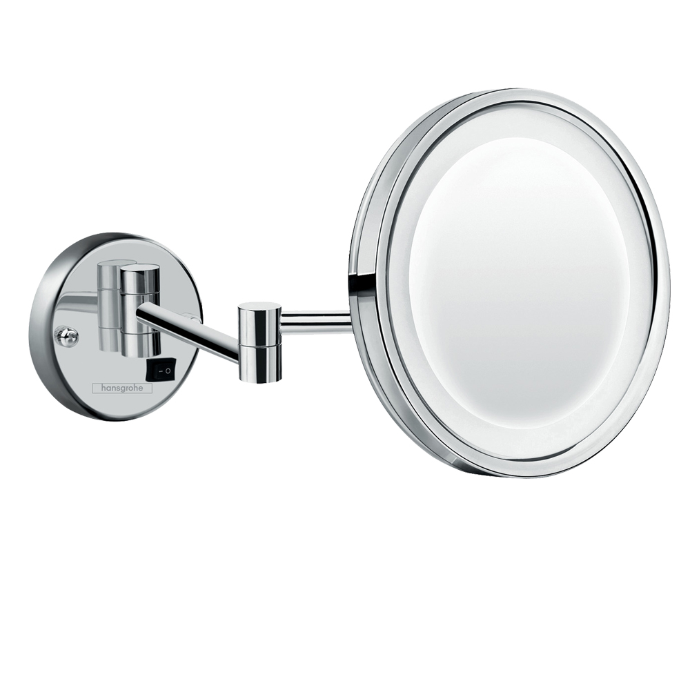 Hansgrohe: Logis Universal Shaving Mirror with LED Light #73560000 1