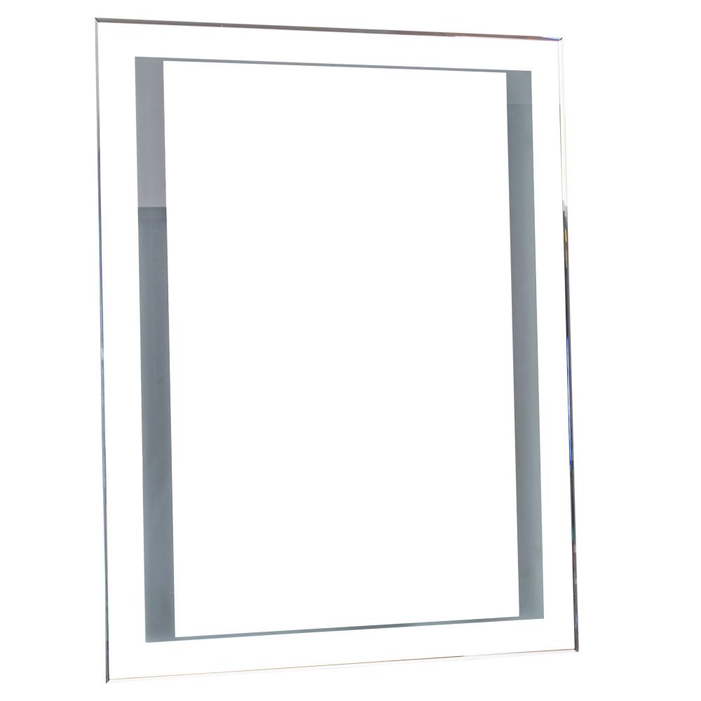 NOVA: Mirror With Lights: 80x60X5cm #LM-006
