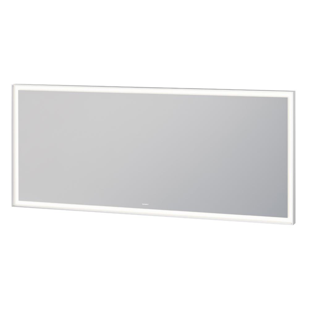 Duravit: L-Cube: Mirror With Lights: 70x160x6