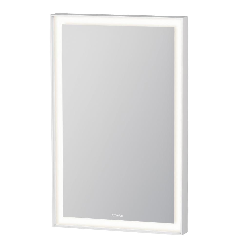 Duravit: L-Cube: Mirror With Lights: 45x70x6