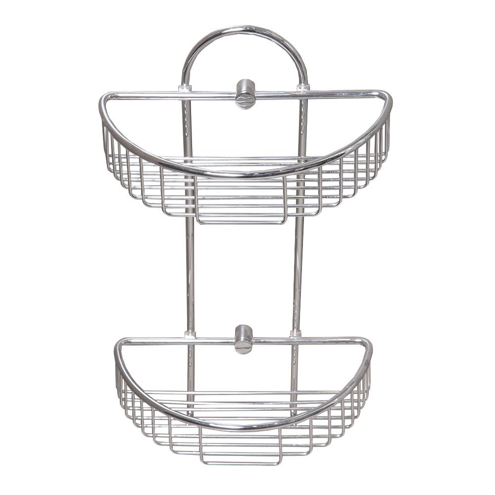 DALI : Soap Basket: Double, 28x15x42cm: C.P