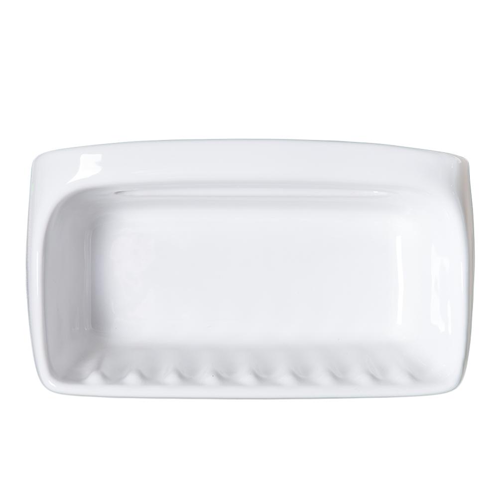 Duravit : Dune : Soap Dish (Double) White #009672 1