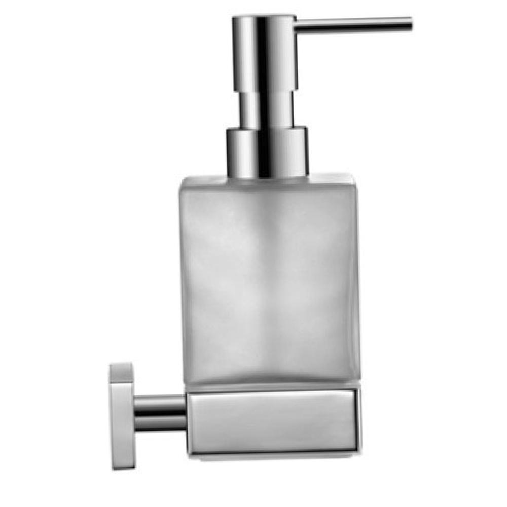 Duravit: Karree: Soap Dispenser: Wall Mounted, C.P