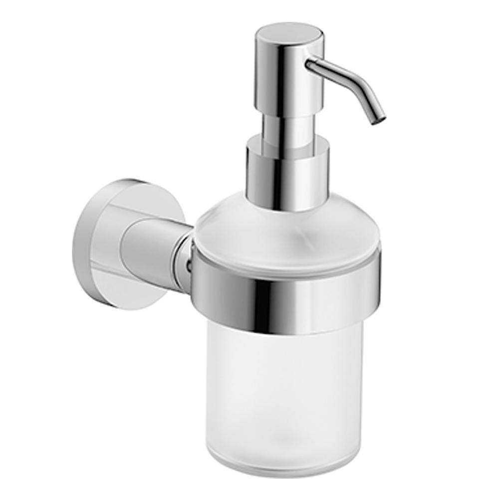 Duravit: D-Code: Soap Dispenser: Wall Mounted, C.P