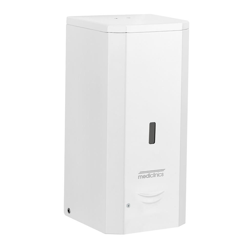 Mediclinics: Automatic Wall-Mounted Liquid Soap Dispenser: 1000ml, White #DJ0037A 1