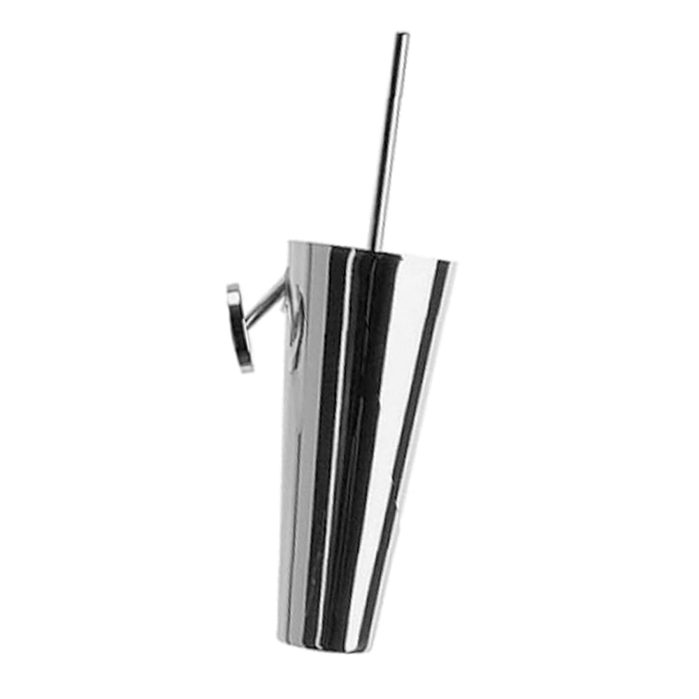 Duravit: Starck 1: Toilet Brush+Holder, CP #0097811000 1
