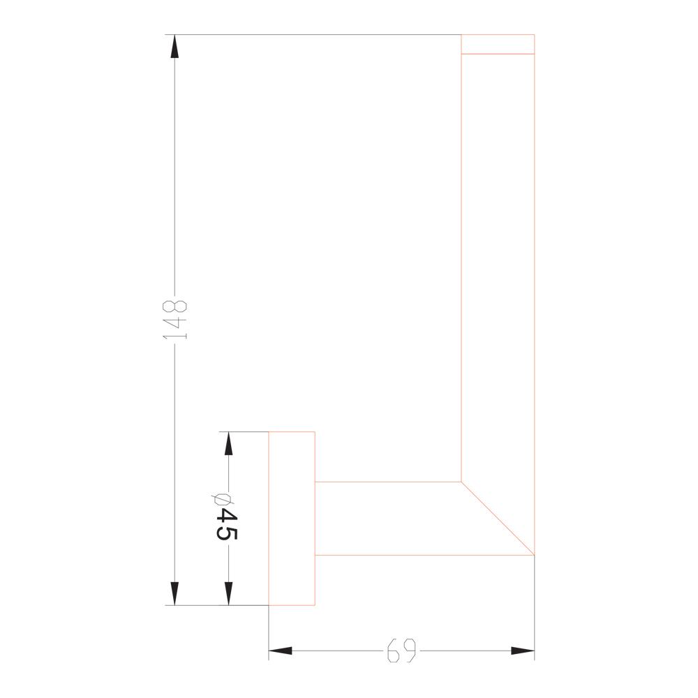 DALI: Toilet Roll Holder, Spare: C.P #JM71
