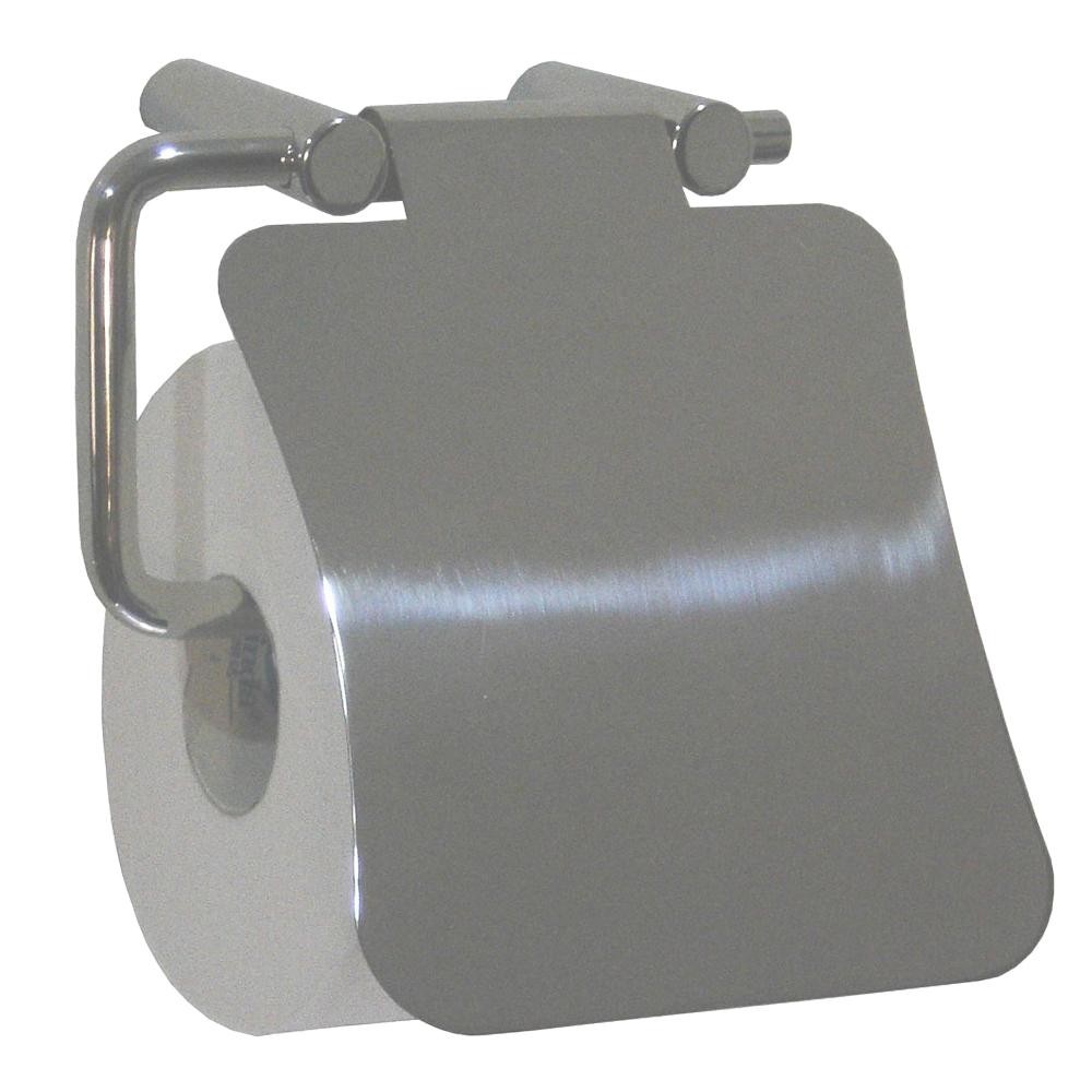 Mediclinics: Toilet Roll Holder + Cover: S/Steel #AI0080C 1