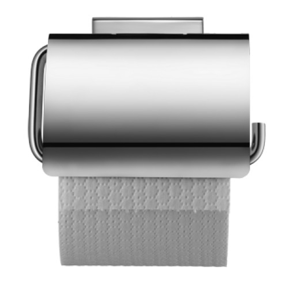 Duravit: Karree: Toilet Roll Holder, C.P