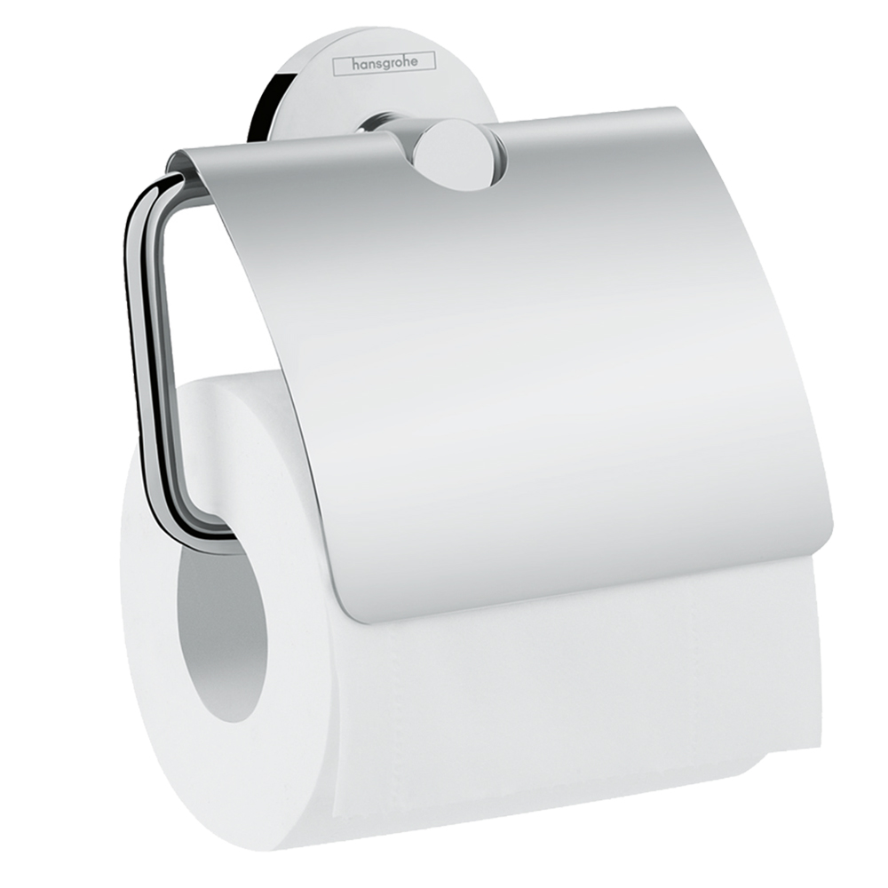 Hansgrohe Logis Universal: Toilet Paper Roll Holder With Cover C
