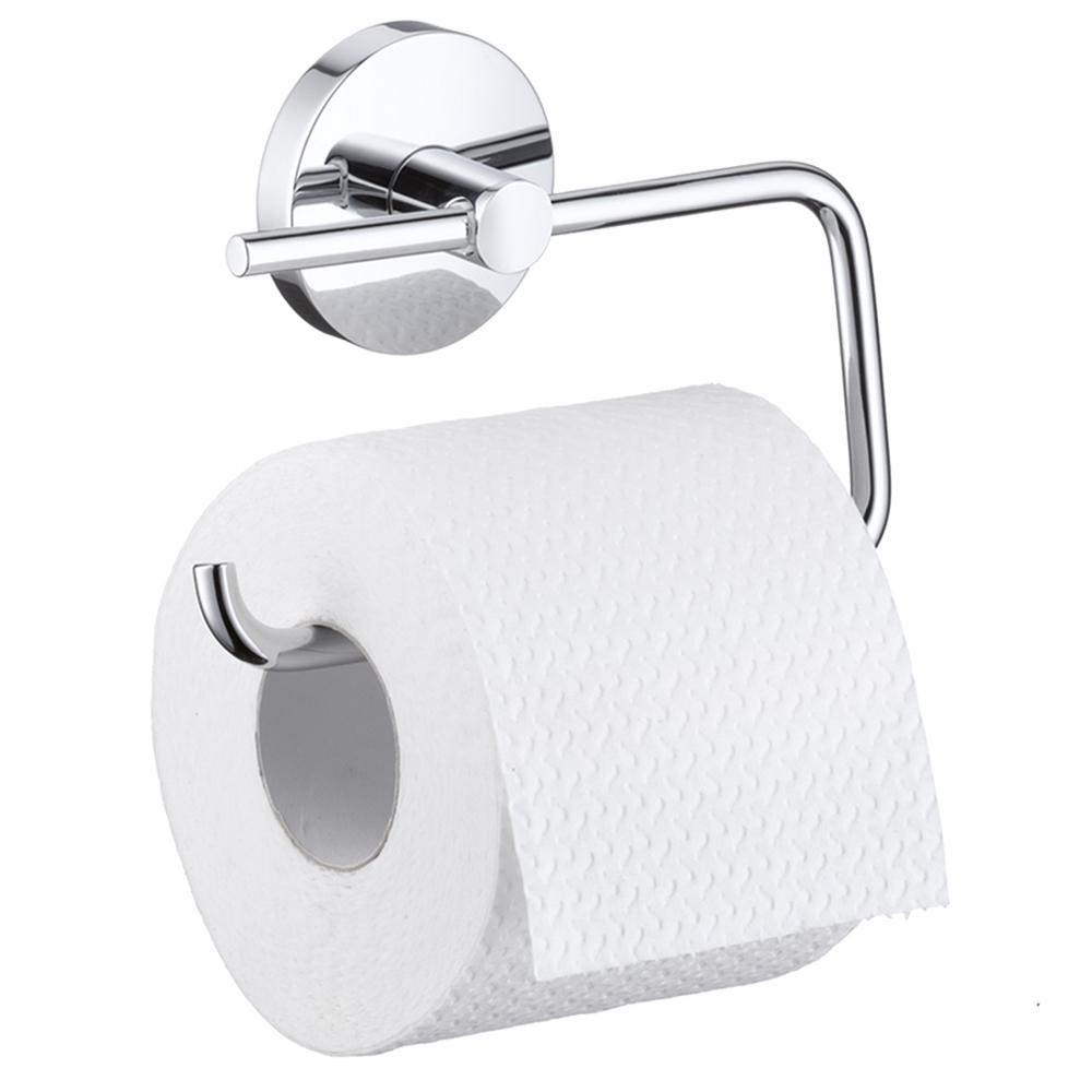 Hansgrohe Logis: Toilet Paper Roll Holder Without Cover C