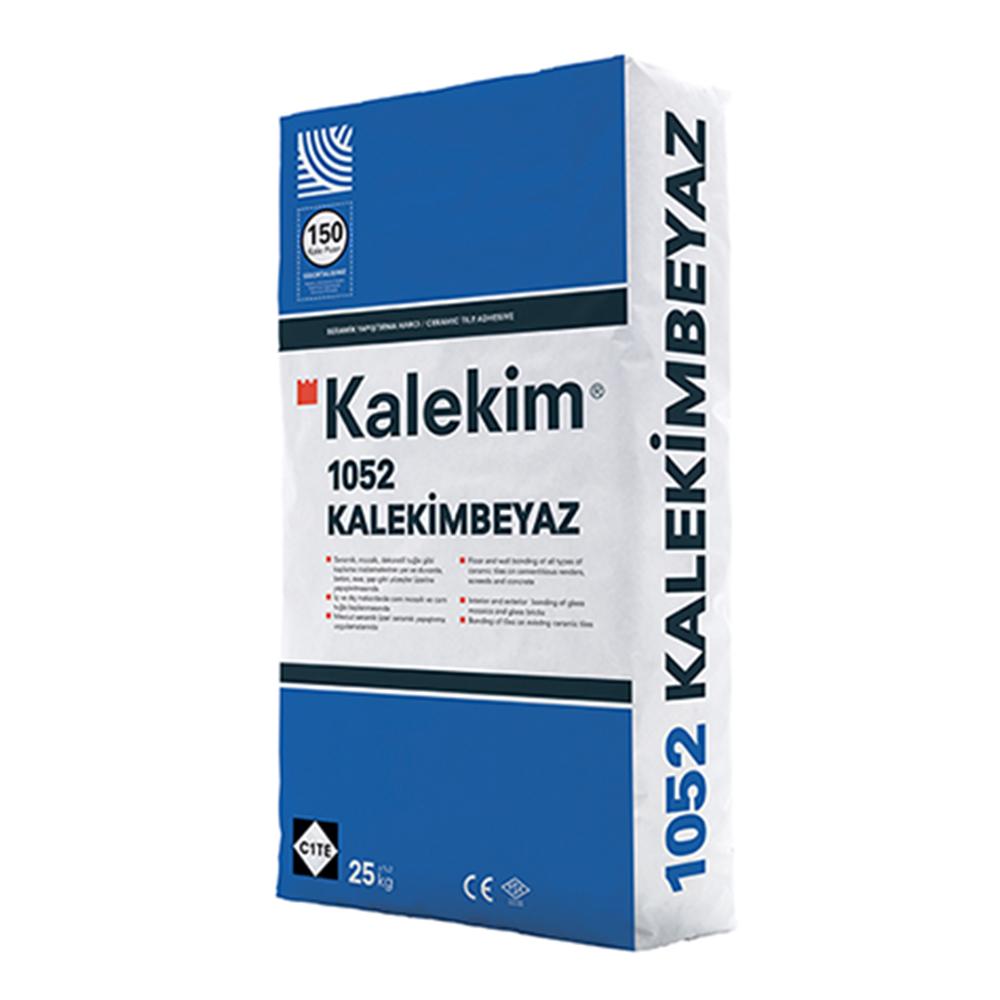 Kalekim Tile Adhesive: 1052 White 25kg  1