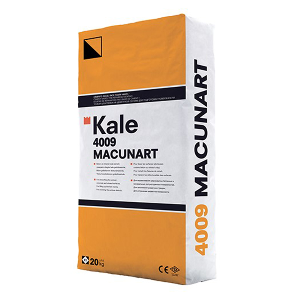 Kalekim: Macunart 4009 Smoothing Plaster for Interior and Exterior Application 20kg 1