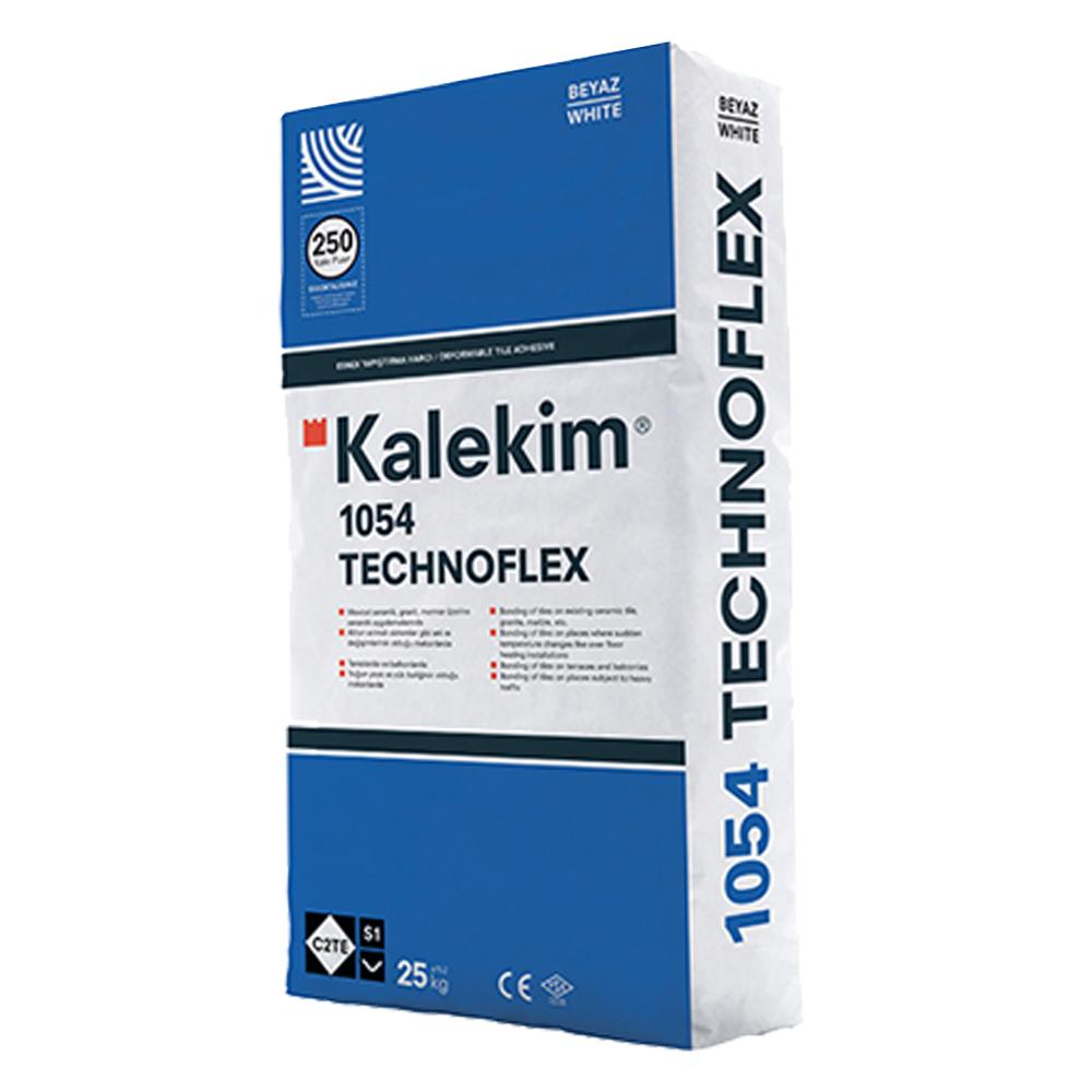 Kalekim Technoflex 1054 Tile Adhesive: Grey, 25kg bag 1