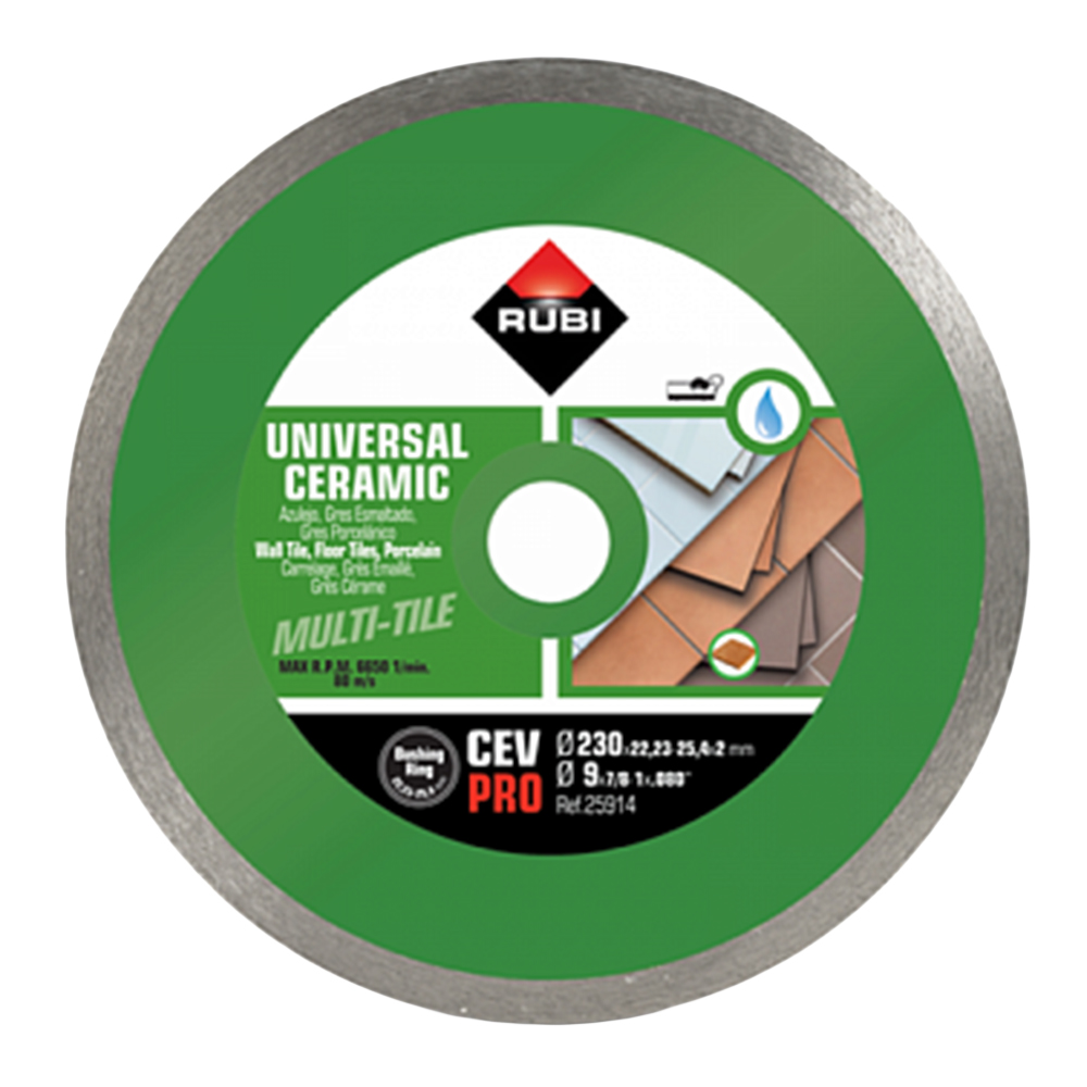 Rubi: BL-C300: Basic Line Diamond Disc: 300mm, 12in #25935 1