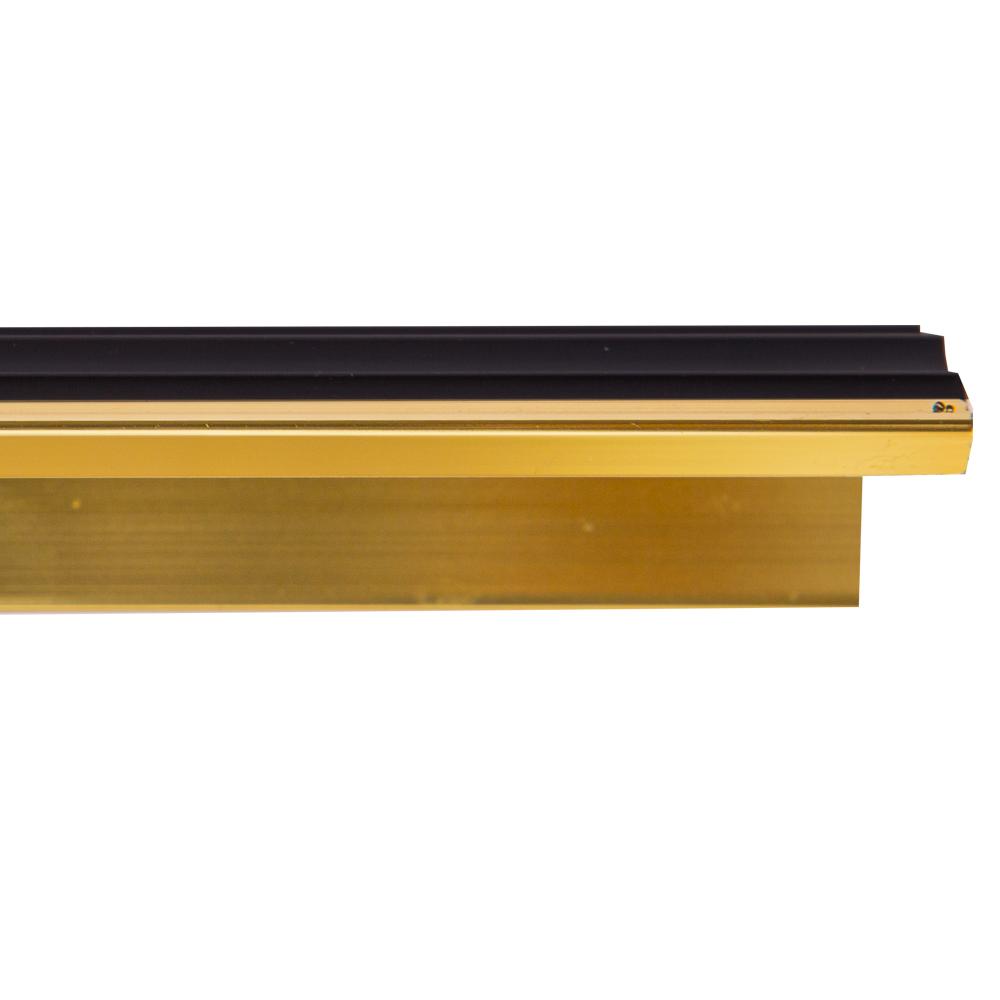 Sang Yi: Aluminium Stair Nosing: Polish Gold: 2.5mx40mm(W)x15mm( H) #SY-DT-0102