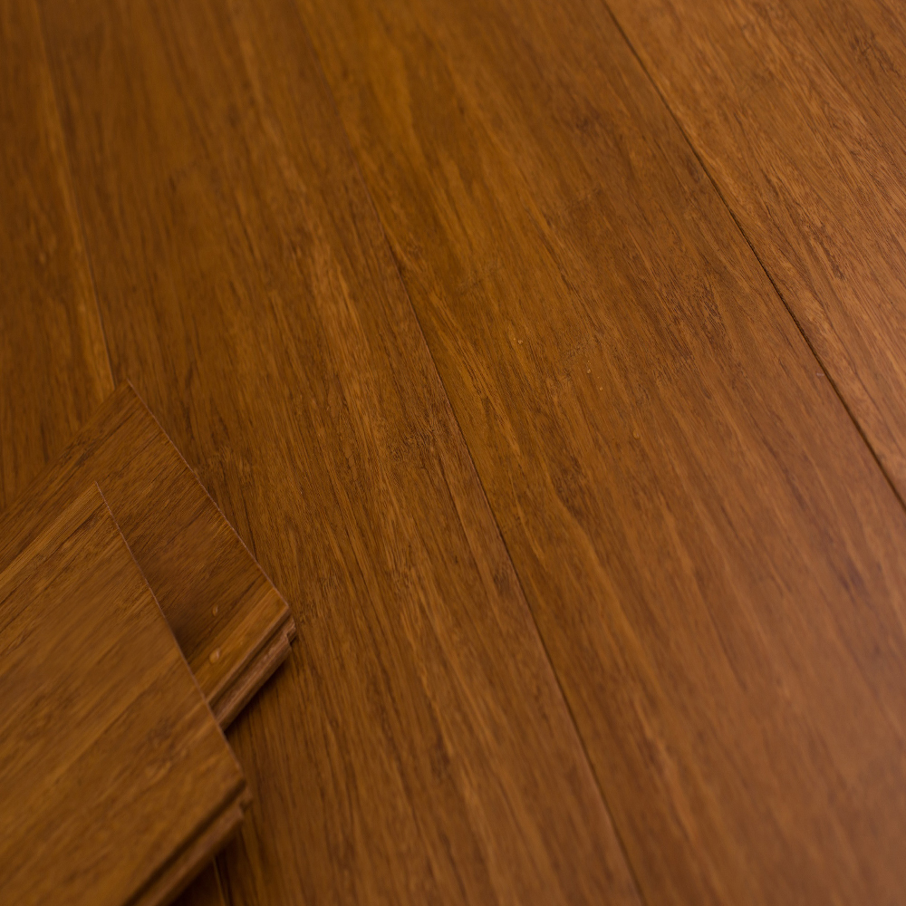8002: Strand Woven Bamboo Flooring, Carbonized: 1530x132x12mm  1